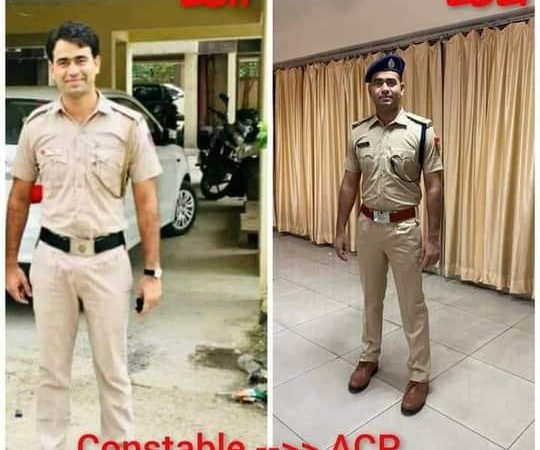 Delhi police constable Became IPS Police Officer