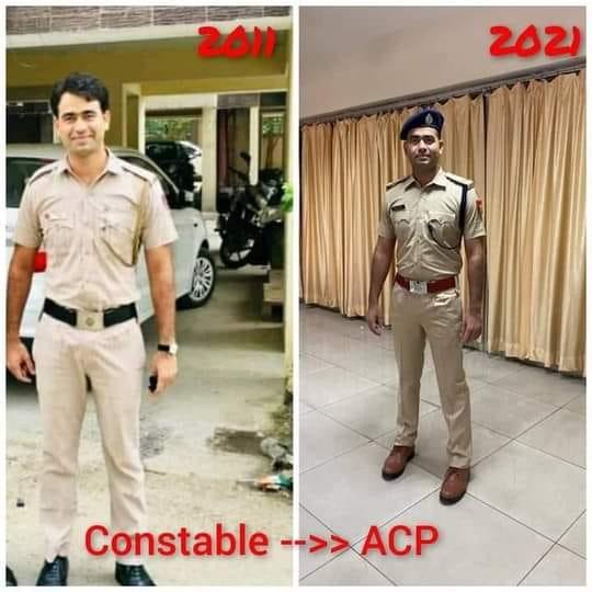 दिल्ली पुलिस कांस्टेबल फिरोज आलम की प्रेरक कहानी जिसने #UPSC को ACP के रूप में फिर से शामिल किया